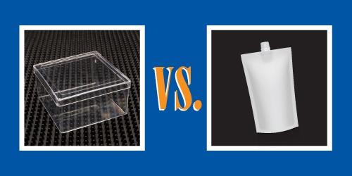 rigid plastic packaging-vs-flexible packaging